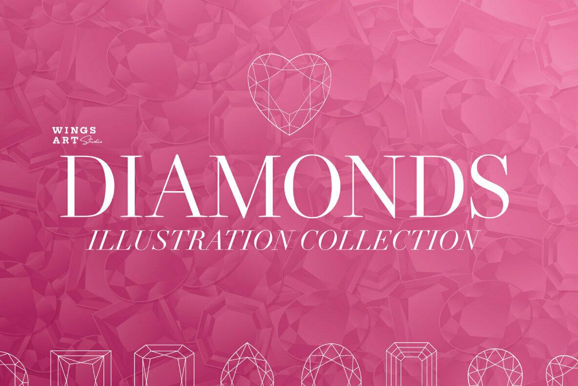 Diamond Illustrations