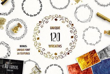 120 Unique Wreaths