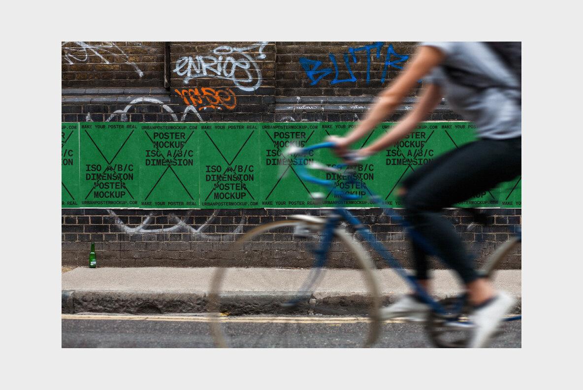 Urban Poster Mockup Vol 2