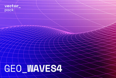 GEO WAVES4 Vector Pack
