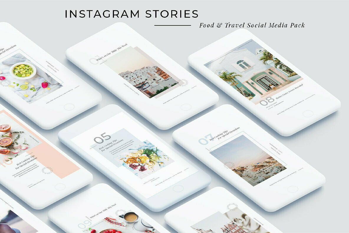 Minimal Animated Instagram Stories