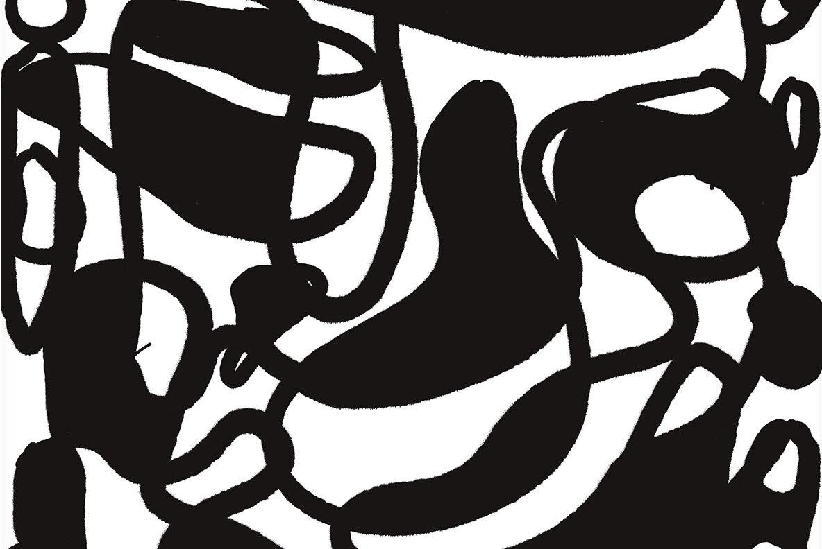 Sketch Drip Flow   Hand Drawn Patterns