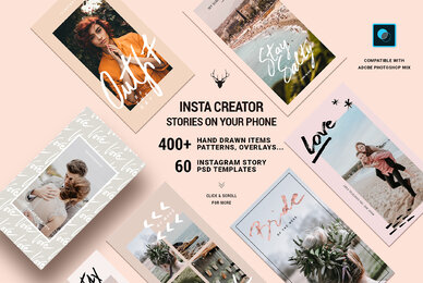 InstaElements Instagram Stories Kit