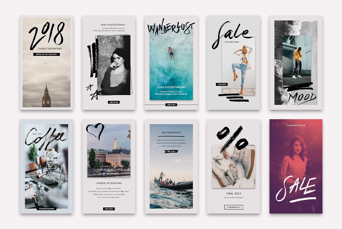 InstaElements Instagram Stories Kit