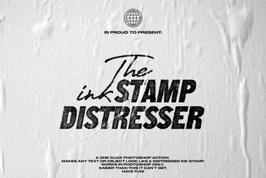 The Ink Stamp Distresser   One Click