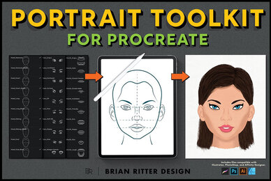 Portrait Toolkit for Procreate