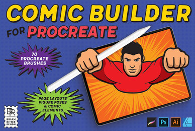 Comic Builder for Procreate