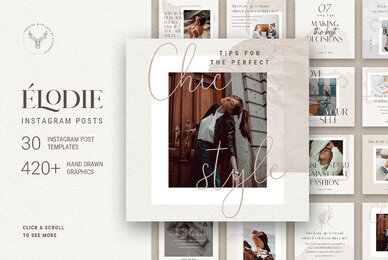 Elodie   Instagram Post Templates