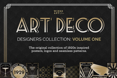 Art Deco Designers Collection Volume 1