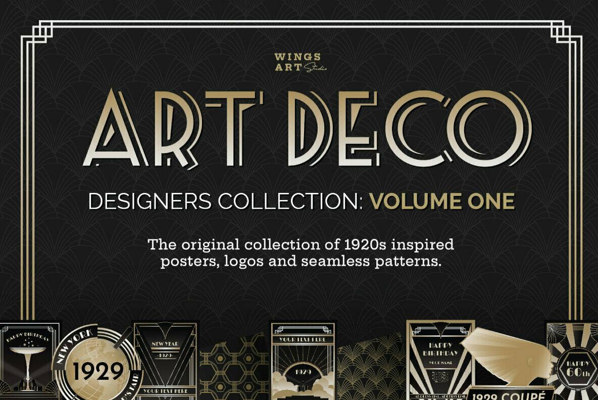 Art Deco Designers Collection Volume 1