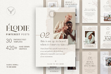 Elodie   Pinterest Post Templates