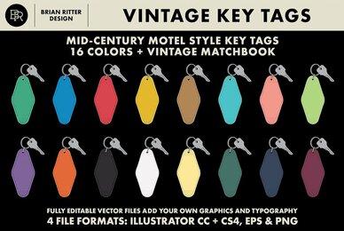 Vintage Key Tags