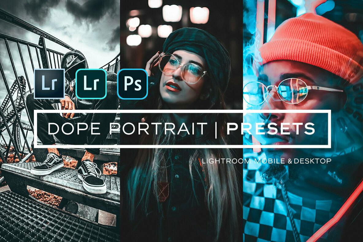 Dope Portrait Lightroom Presets