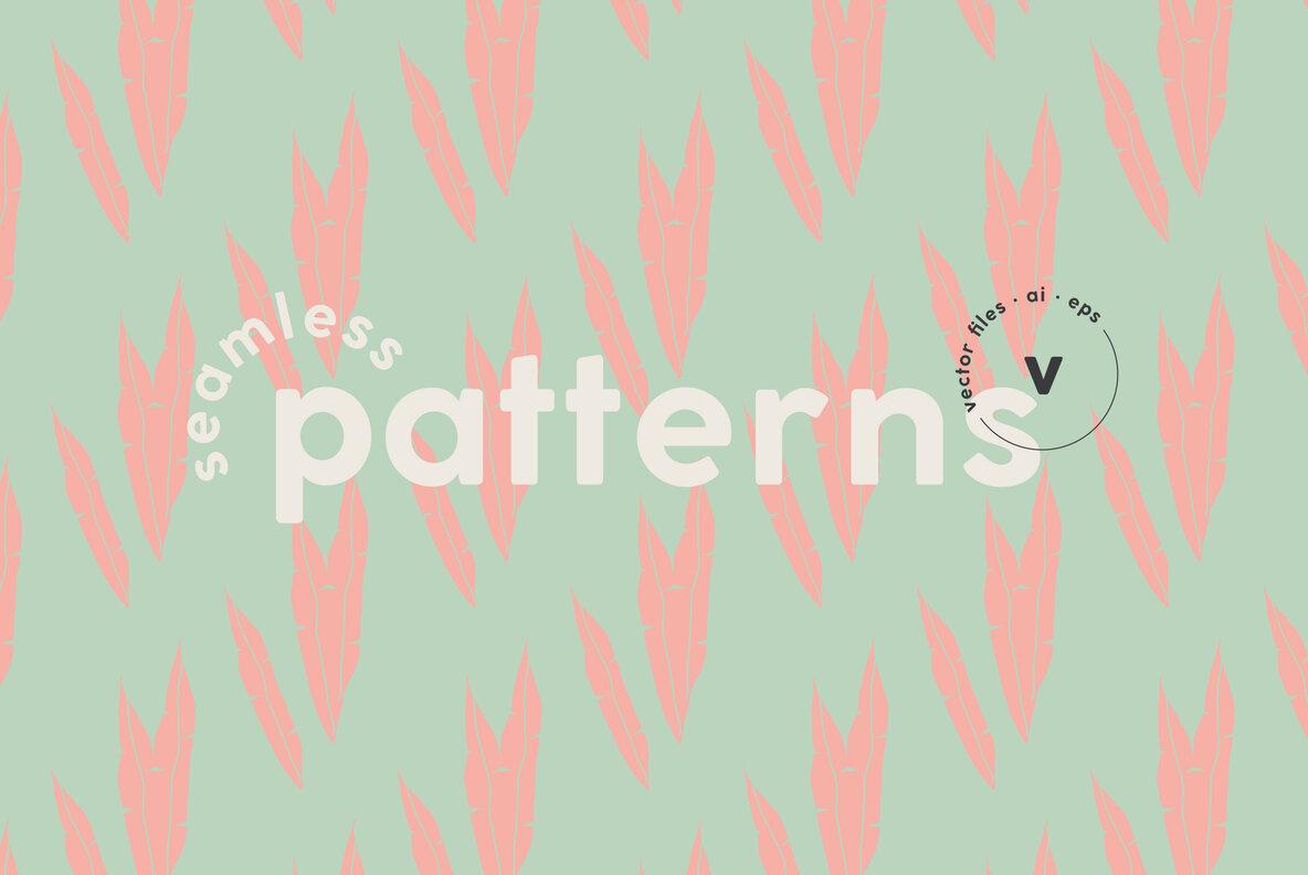 Life Organic Shapes   Patterns Kit