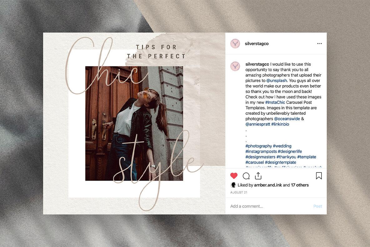 Elodie   Social Media Templates Pack