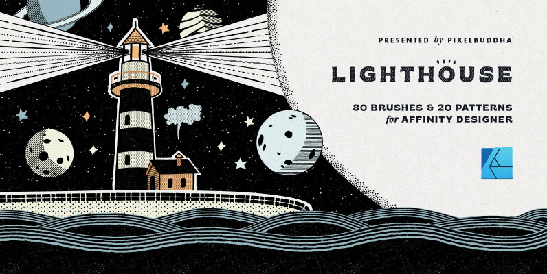 Lighthouse Liner Affinity Brushes