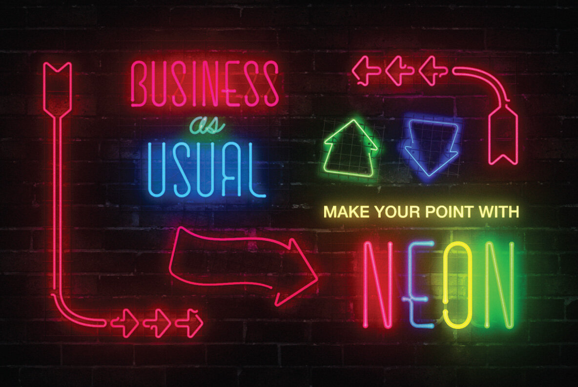 Neon Sign Collection Volume One