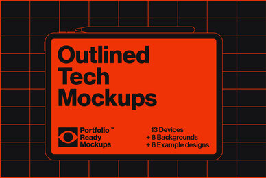 Outlined Tech Mockups