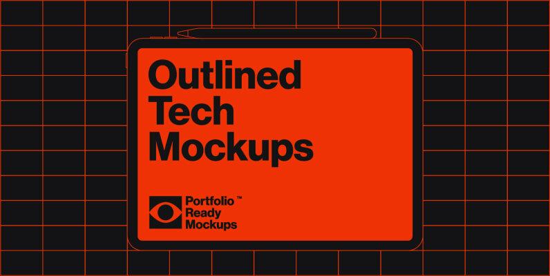 Outlined Tech Mockups