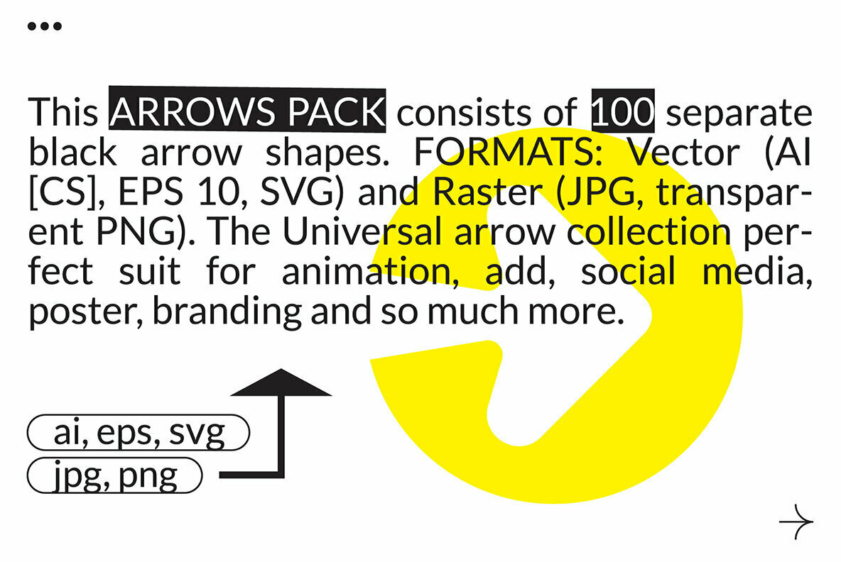100 Arrows Set