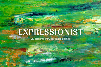 Expressionist   20 Contemporary Abstract Paintings