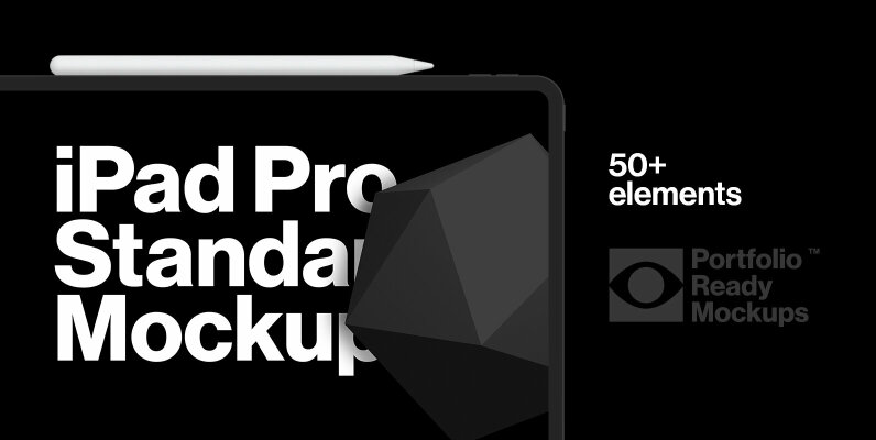 iPad Pro Standard Mockups
