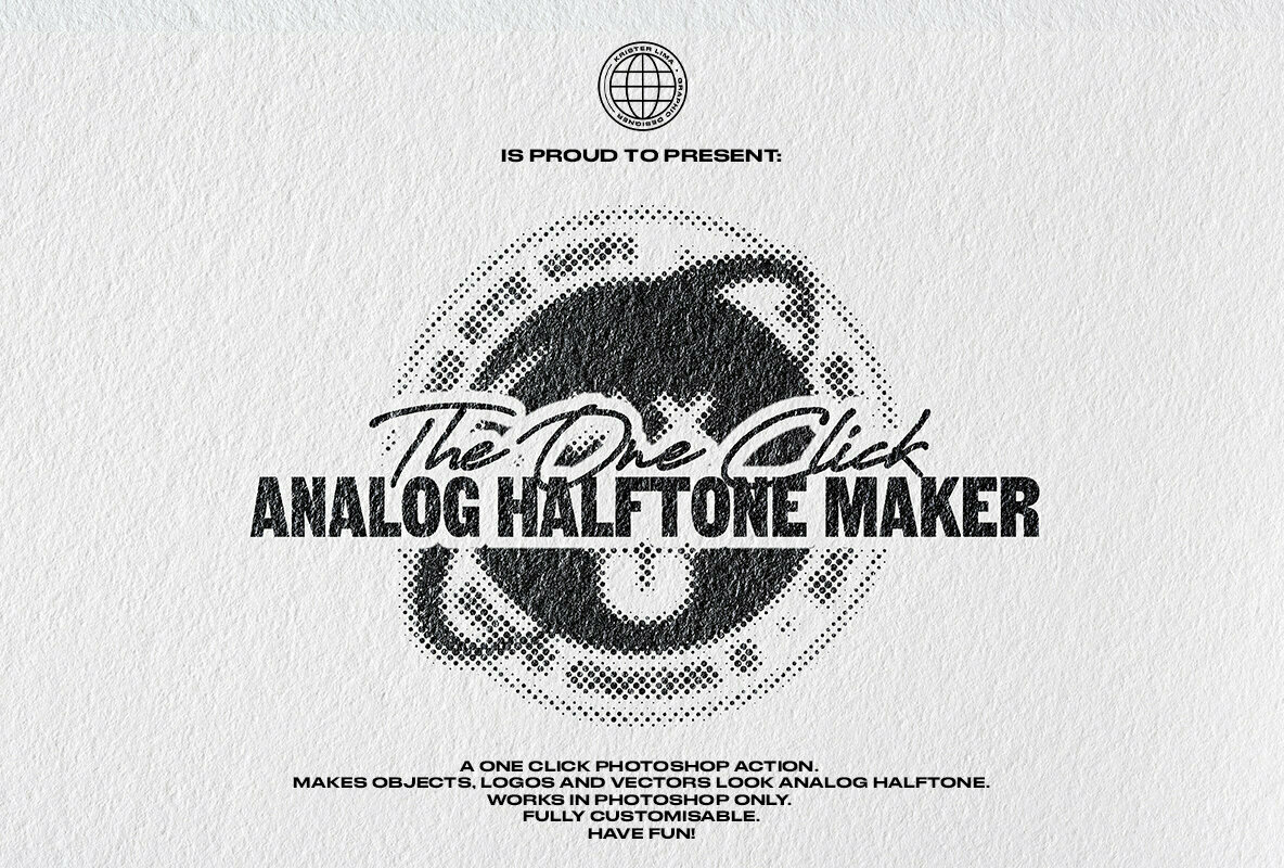 The One Click Analog Halftone Maker