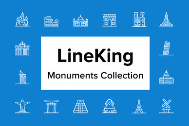 LineKing   Monuments Collection