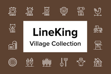 LineKing   Village Collection