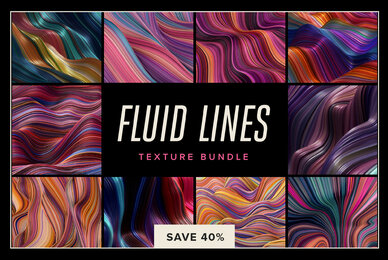 Fluid Lines Texture Bundle