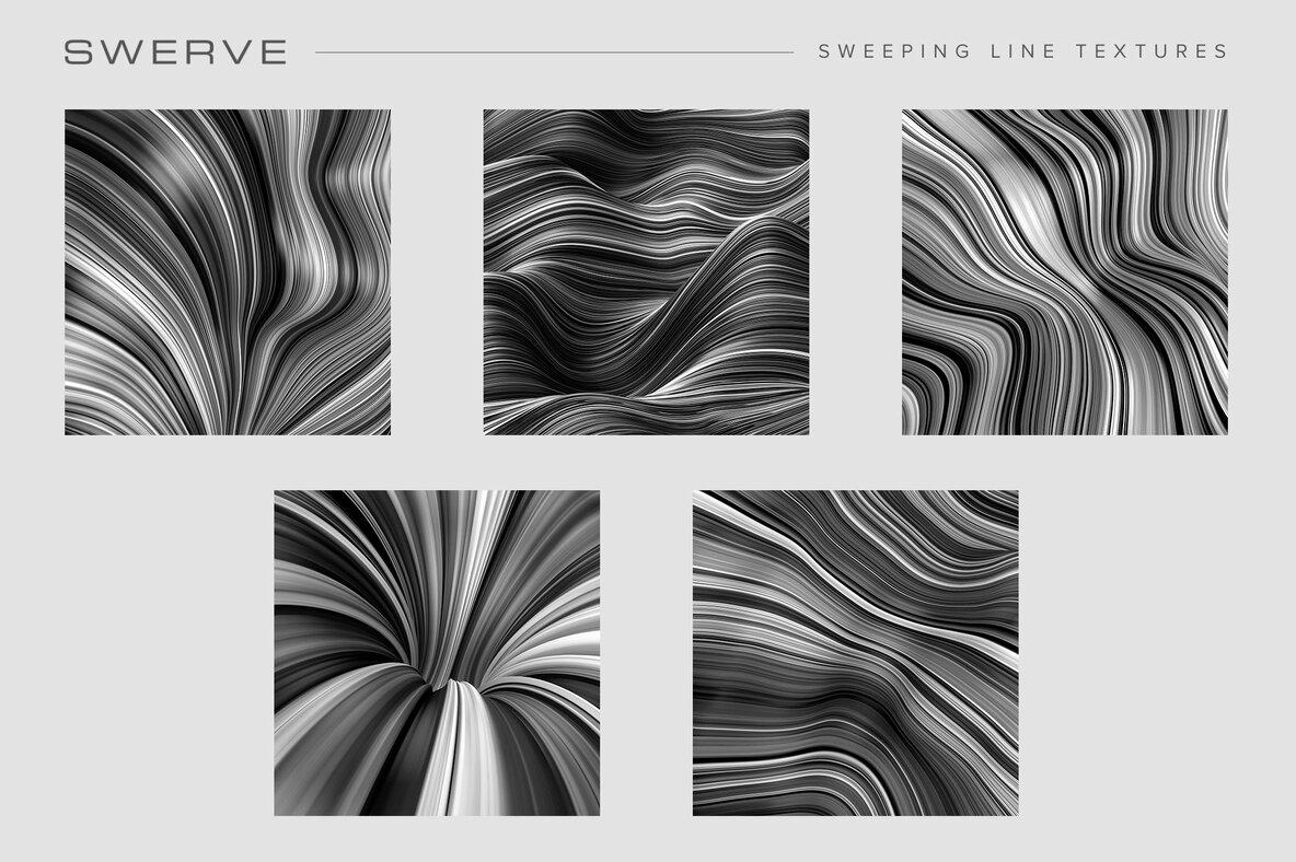 Fluid Lines Texture Bundle
