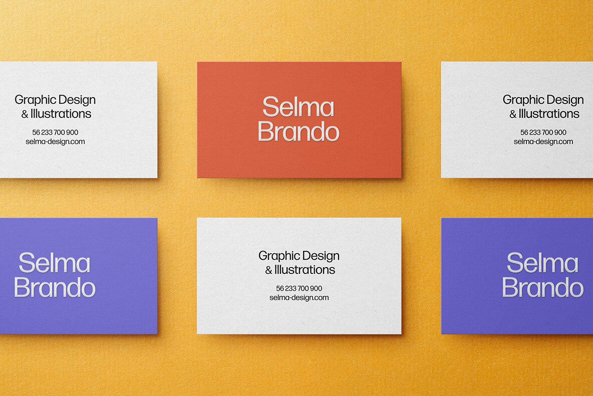 Business Card Mockup Kit