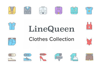 LineQueen   Clothes Collection