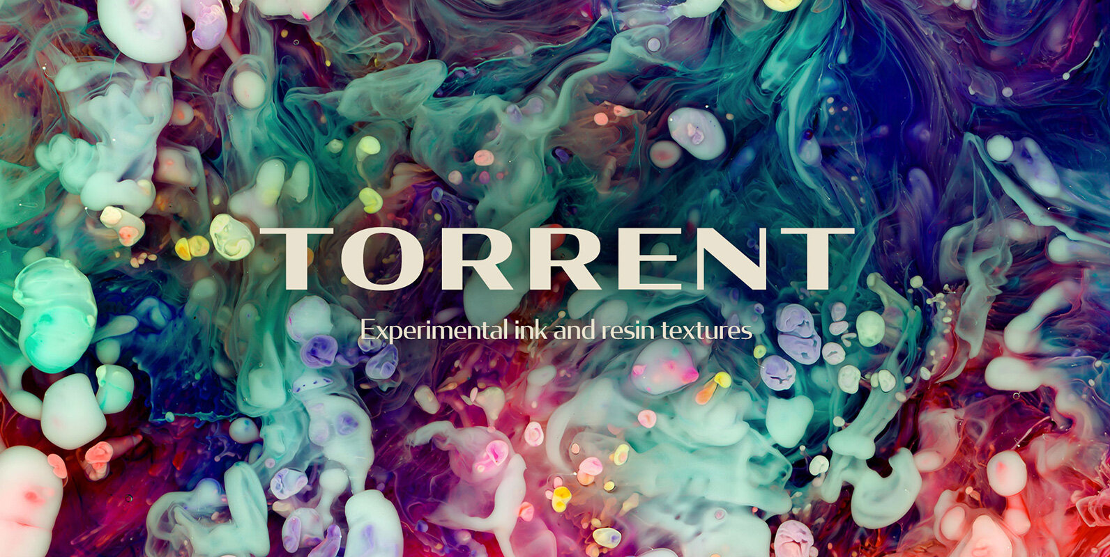 Torrent – Ink & Resin Textures
