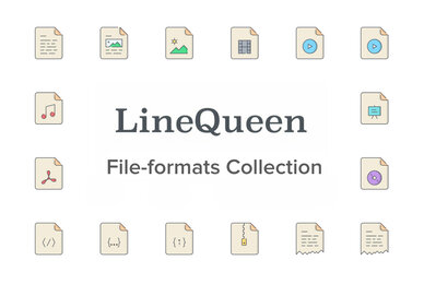 LineQueen   File formats Collection