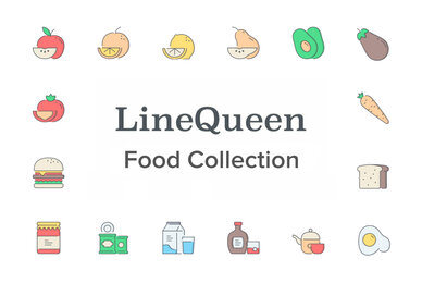 LineQueen   Food Collection