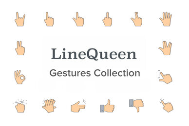 LineQueen   Gestures Collection