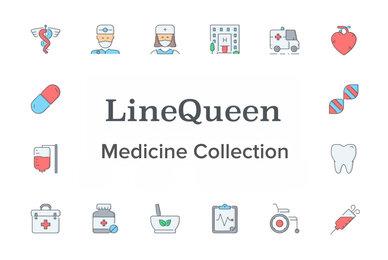 LineQueen   Medicine Collection