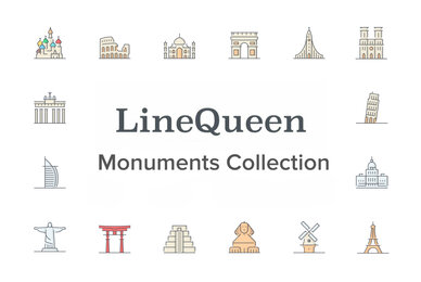LineQueen   Monuments Collection