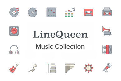 LineQueen   Music Collection