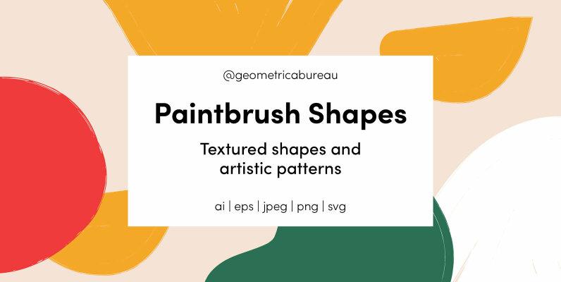 Paintbrush Shapes