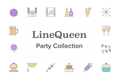 LineQueen   Party Collection