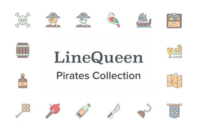 LineQueen   Pirates Collection
