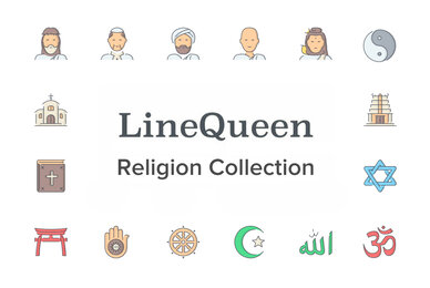 LineQueen   Religion Collection
