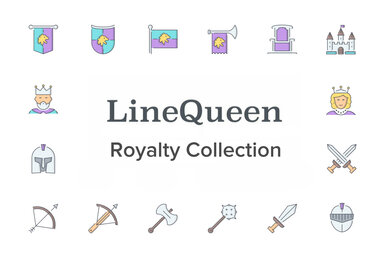 LineQueen   Royalty Collection