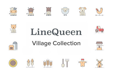 LineQueen   Village Collection