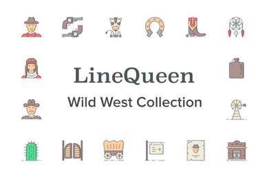LineQueen   Wild West Collection