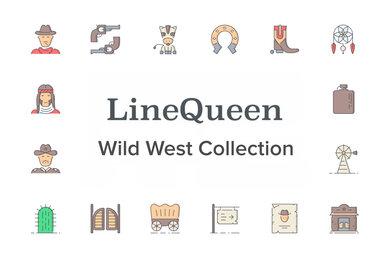 LineQueen   Wild West Collection