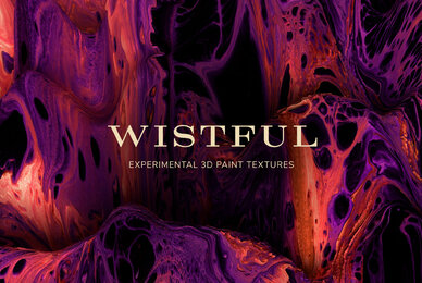 Wistful     Experimental 3D Paint Textures