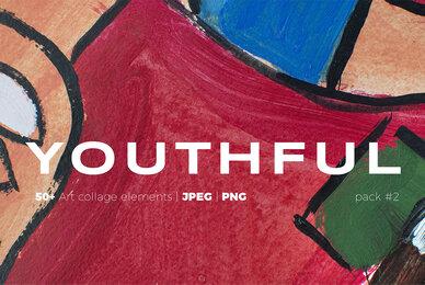 Youthful   Graffiti Art Collage Paintings Pack